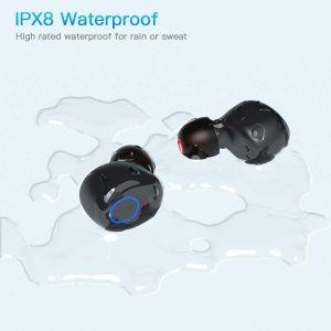 Kurdene S8 wireless earbuds - Great waterproof for working out earbuds