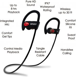 Senso ActivBuds S-250 - Best Wireless Sports Earphones