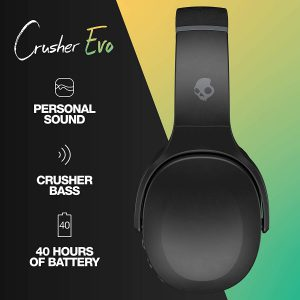 Skullcandy Crusher Evo - Long battery life up to 40 hours