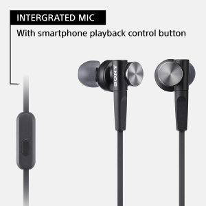 Sony MDR-XB50AP Extra Bass earbuds - Best affordable in-ear headphones