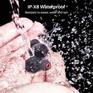 Tozo T6 - IPX8 waterproof wireless earubds